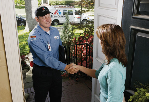 in-home estimate from Jack Nelson Service Experts Heating & Air Conditioning